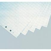 """Бумага для флипчарта """"Magnetoplan"""", в клетку, цвет: белый, 65 см x 98 см, 100 листов"""