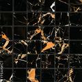 Плитка из керамогранита Урбанист Мозаика Вулкано Голд