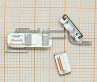 Кнопки для iPhone 5s (серебро)