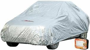 """Чехол-тент на автомобиль """"Airline"""", защитный, цвет: серый, 455 х 186 х 120 см"""