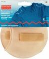"Накладки плечевые Prym ""Реглан"", цвет: телесный, 110 х 100 х 11 мм, 2 шт, размер S"