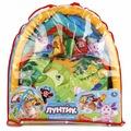 Развивающий коврик Умка коврик детский лунтик, С мягкими игрушками на подвеске, В пакете, 253141