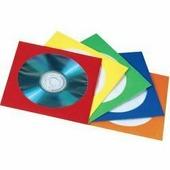 Конверты Hama H-78367 для CD/DVD 25 шт (5 цветов) - Альбом, коробка, стойка для CD, BD диска