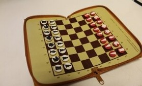 """Шахматы карманные магнитные """"Chessm.com"""""""