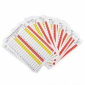 Карточки судьи для заполнения