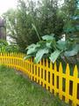 Заборчик декоративный №3 Gotika 3,1м высота 35см (7 эл.) желтый
