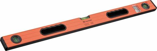 Уровень магнитный Harden, 580513, 3 глазка, 2 обрезиненные рукоятки, 1 м