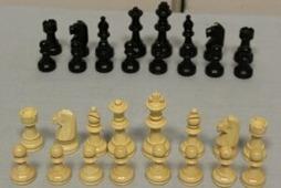 """Деревянные шахматы """"Импал"""" без доски"""