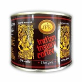Кофе ORIGINAL Indian Instant Coffee Powder JFK (Кофе растворимый, порошкообразный Инстант ориджинал), 100 г.