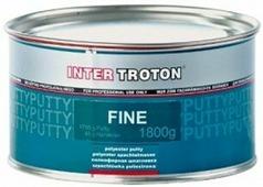 Шпатлевка полиэфирная отделочная INTER Troton FINE 1,8 кг