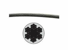 Starfix Трос стальной в ПВХ SWR М6 PVC М8 DIN 3055 (бухта 100 м) (SMP-53748-100)