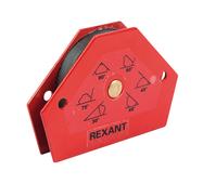 Магнитный держатель Rexant угольник для сварки на 6 углов усилие 11,3 кг {12-4831}