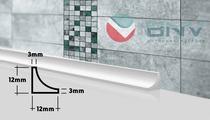 Плинтус бордюр для ванной ГЛ12 90 см