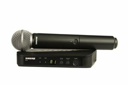 Радиосистема вокальная Shure BLX24E/SM58 K3E (606-638 MHz)