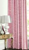 """Штора """"Garden"""", на ленте, цвет: розовый, высота 260 см. С 537392 V8"""