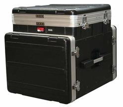GATOR GRC-10X8PU - кейс,пластик,черный,10U верх, 8U низ, компактный, откидная крышка