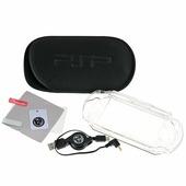 Набор 6 в 1 Black Horns для Sony PSP E1000 (BH-PSE0803(R)