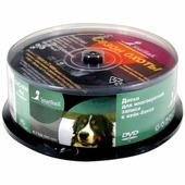 Диск DVD-RW 4.7Gb Smart Track 4x Cake Box (25 шт) ST000324