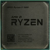 Процессор AMD Ryzen 5 2600 (YD2600BBM6IAF) 3.4(3.9)GHz, 6 ядер / 12 потоков, 16Мб, 65W (Socket AM4)