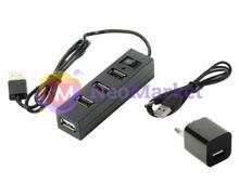 Хаб USB Orient TA-400PSN USB 2.0 4 Ports 30265