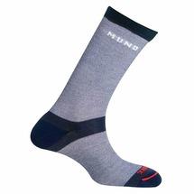 Носки трекинговые Mund Elbrus, цв. Синий (312) (Размер: L (41-45))