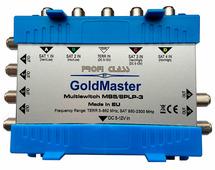 Мультисвитч GoldMaster MS5/6PLP-3