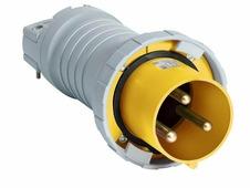 2125 P4W Вилка кабельная 2125P4W, 125А, 2P+E, IP67, 4ч ABB, 2CMA166808R1000