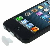 Заглушка в разъем для зарядки (белая) для iPhone 6 / 6 Plus, 5 / 5S, iPad mini, iPad 4, iPad Air / Air 2, iPod Touch 5