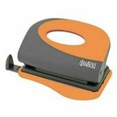 "Дырокол Index ""Fusion"", цвет: серый, оранжевый. IFP700"