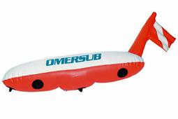 Поверхностный буй с надувным флагом O.ME.R. Torpedo