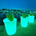 Светящаяся ваза Рим (круглое) RGB Accum_YM