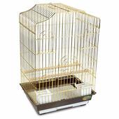 Клетка для птиц TRIOL 6112G золото 46,5×36×71 см (50611017)