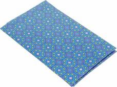 """Ткань для пэчворка Артмикс """"Пейсли"""", цвет: голубой, желтый, 48 х 50 см. AM604012"""