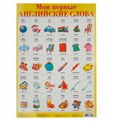 Плакат Дрофа-Медиа Мои первые английские слова 1