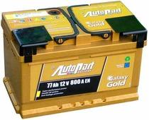 Автомобильный аккумулятор Autopart Galaxy Gold (77 A/h), 800A R+