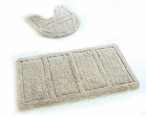 Набор ковриков для ванной комнаты и туалета Iddis Beige Landscape