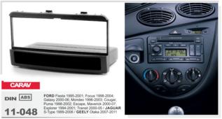 Переходная рамка для установки магнитолы CARAV 11-048 - Ford Fiesta 1995-2001, Focus 1998-2004 рамка с карманом