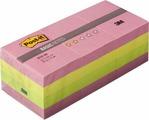 Клейкая бумага для заметок Post-it Basic, 416840, 3,8 x 5,1 см, 12 блоков по 10 листов