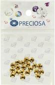 """Стразы термоклеевые Preciosa """"Crystal Aurum SS20"""", цвет: золотой, 20 шт"""