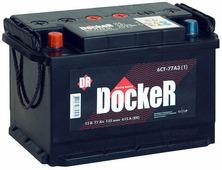 Автомобильный аккумулятор Docker (77 А/ч)