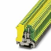 Клеммные соединения USLKG 5 Клемма желто-зеленая 4 мм кв. Phoenix Contact