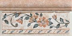 Плитка из керамогранита Del Conca Керамический бордюр Ambre Di Soanne Rosai B(mix) Rosa