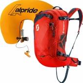 Лавинный рюкзак Scott Air Free Ap 32 Kit (картридж в комплекте) темно-оранжевый