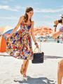 Электронная выкройка Burda - Платье с пышной юбкой в складку 13