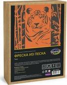 Фреска из песка Развивашки Тигр