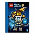 LEGO Тетрадь Nexo Knights 51556 Линейка 100 листов