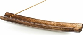 """Подставка для ароматических палочек Sitara """"Лодка"""", цвет: коричневый"""