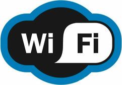 """Наклейка Rexant """"Зона Wi-Fi"""" 150х200 мм {56-0017}"""