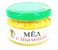 Мед с пыльцой 300 гр