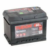Аккумулятор для легковых автомобилей Tudor Technica TB602 (60 А/ч / 60 ач), 540A R+